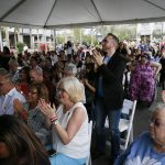 2018 Walk of Hearts Ceremony at The Village at Westfield Topanga