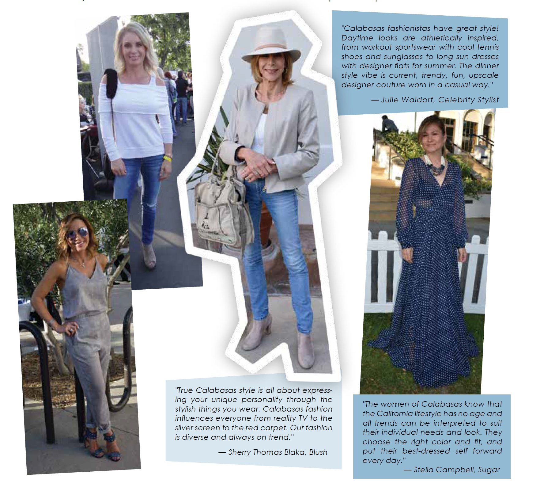 36c97e40f7c So what is the style of the women and men around here  We turned to some  local experts to ask opinions…